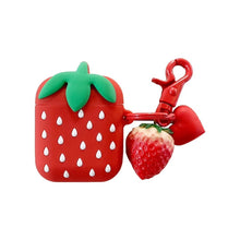 Load image into Gallery viewer, Cute Strawberry Airpods Case