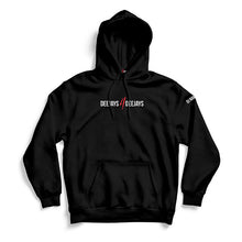 Laden Sie das Bild in den Galerie-Viewer, Customized DJs4DJs Hoodie (black)