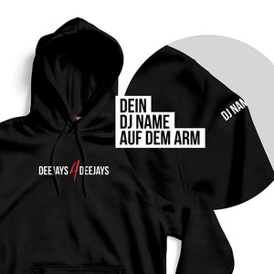 Customized DJs4DJs Hoodie (black)