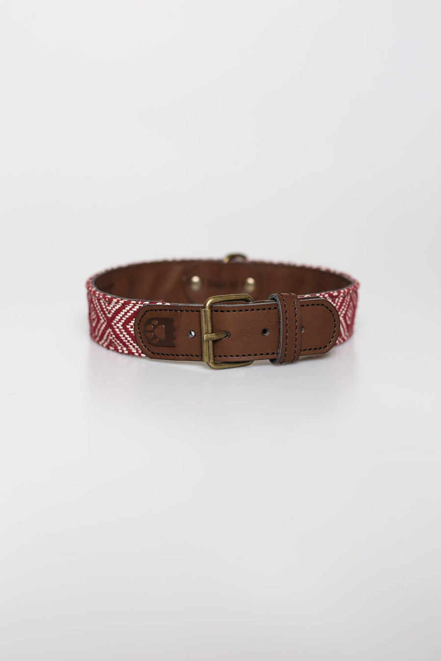 Collar Rustic Burdeos