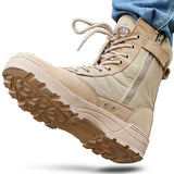 Tactical Military Boots Mens Working Safty  Tacticos Zapatos