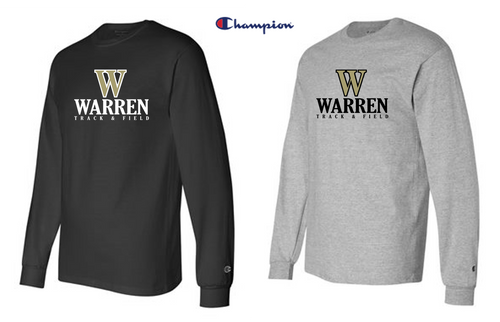 Champion - Long Sleeve - WARREN TRACK & FIELD