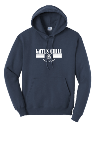 Hooded Sweatshirt - GATES CHILI VOLLEYBALL