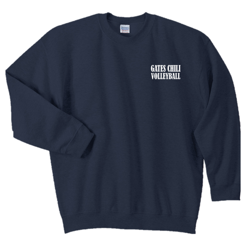 Fan Favorite Fleece Crewneck Sweatshirt - GATES CHILI VOLLEYBALL