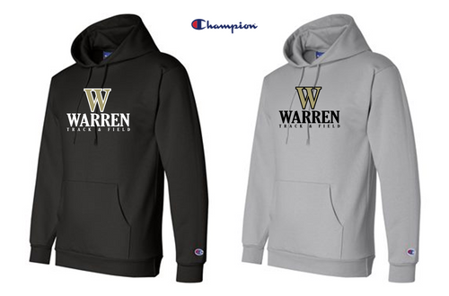Champion - Double Dry Eco® Hooded Sweatshirt - WARREN TRACK & FIELD