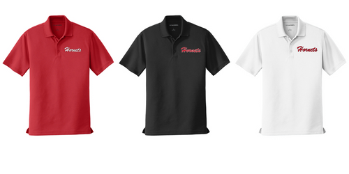 *Dry Zone Micro-Mesh Polo - Adult - HONESDALE FOOTBALL