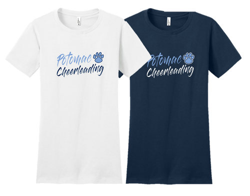 Ladies Fan Favorite Tee - Potomac Cheer