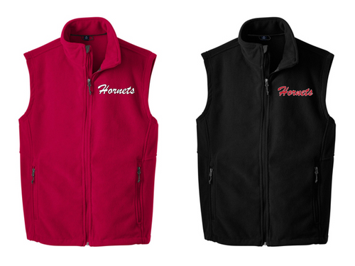 *Fleece Vest - Adult - HONESDALE FOOTBALL
