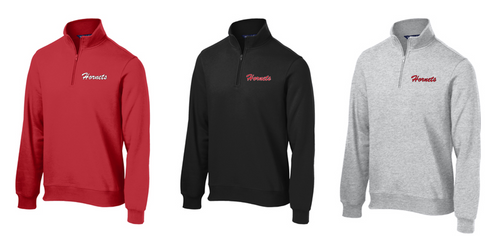 *Sweatshirt 1/4 Zip - Adult - HONESDALE FOOTBALL
