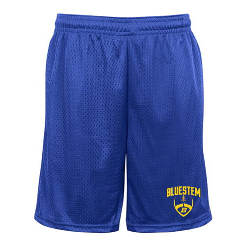 Mesh Pocketed Shorts - Bluestem Football