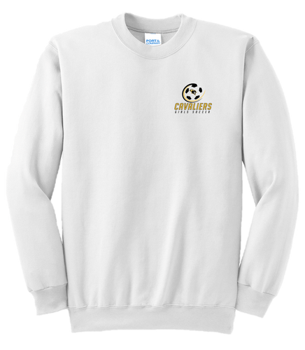 Fan Favorite Fleece Crewneck Sweatshirt - South Carroll Girls Soccer