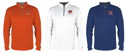B-CORE 1/4 ZIP - Woodstown Track & Field