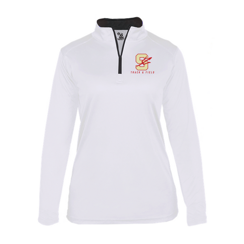Lightweight 1/4 Zip - LADIES - Stratford Track & Field