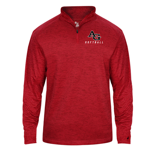 Tonal Blend Lightweight 1/4 Zip - Adult - Ash Grove Softball