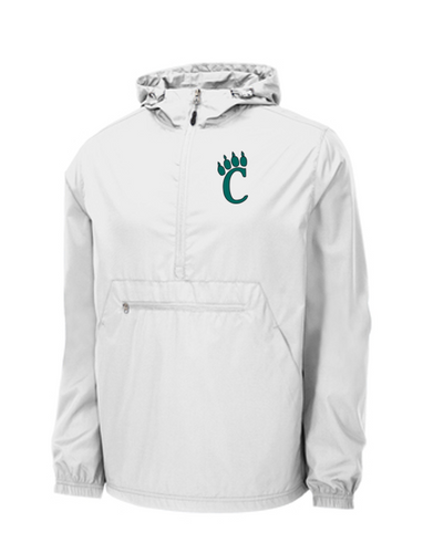 *Packable Anorak Windbreaker - EVERGREEN VALLEY FOOTBALL