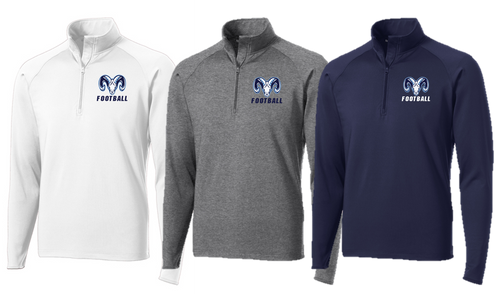 Stretch 1/2-Zip Pullover - Adult - MT. RAINIER FOOTBALL