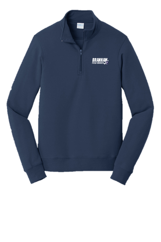 Fleece 1/4-Zip Pullover Sweatshirt - Branham Field Hockey