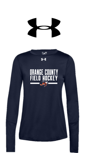 UA Women's Locker Long Sleeve 2.0 - Orange County Field Hockey