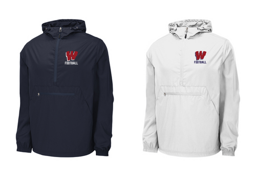 *Packable Anorak Windbreaker - Westborough Football