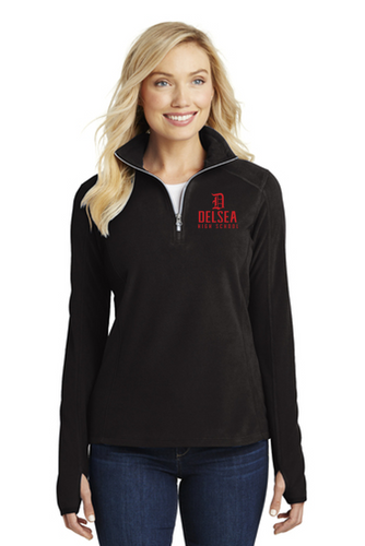Microfleece 1/2-Zip Pullover - Ladies - Delsea Staff