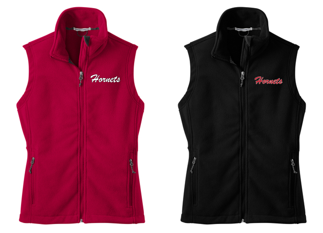 *Ladies Fleece Vest - HONESDALE FOOTBALL