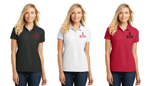 Core Classic Pique Polo - Ladies- Delsea Staff