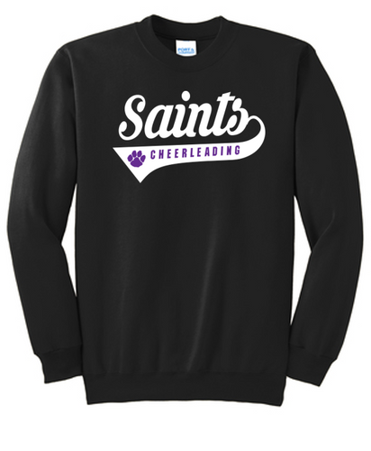 Crewneck Sweatshirt - Adult - Saints Cheerleading