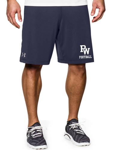 UA Pocketed Raid Shorts - Adult - PW Football
