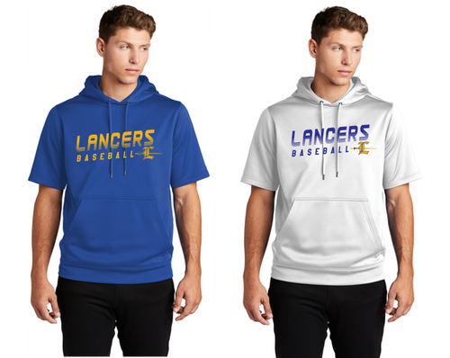 Fleece Short Sleeve Hoodie - Adult - LEE BASEBALL