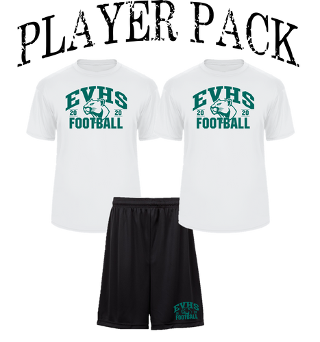 PLAYER PACK - EVERGREEN VALLEY FOOTBALL