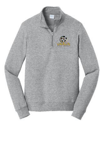 Fan Favorite Fleece 1/4-Zip Pullover Sweatshirt - South Carroll Girls Soccer