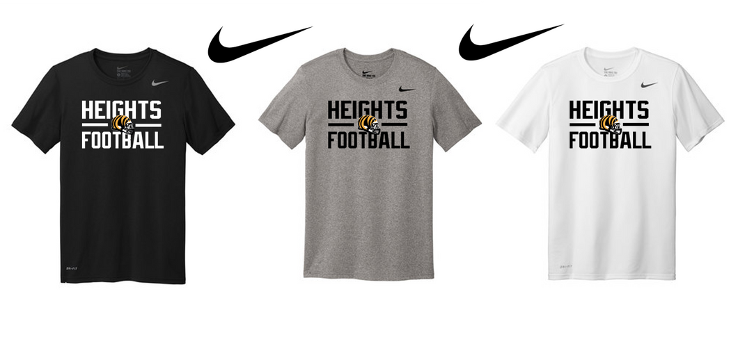 Nike Adult Legend Tee - Cleveland Heights Football