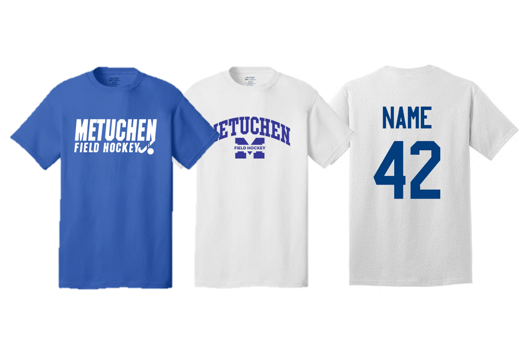 Adult Team Tee- Metuchen Field Hockey