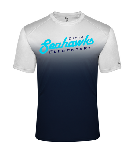 OMBRE PERFORMANCE TEE - Adult - Citta Elementary