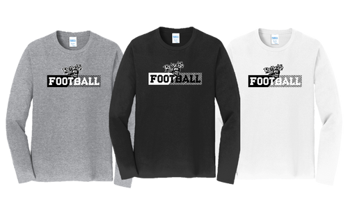 Fan Long Sleeve - Laona/Wabeno Football