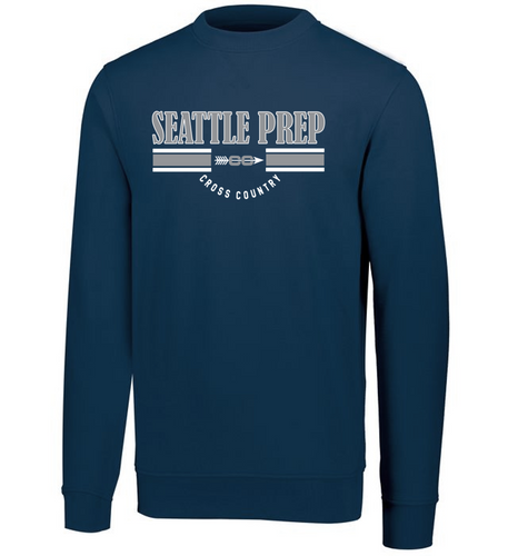 Fan Favorite Fleece Crewneck Sweatshirt - SEATTLE PREP XC