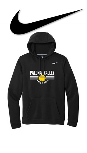 Nike Club Fleece Pullover Hoodie - PALOMA VALLEY WATER POLO