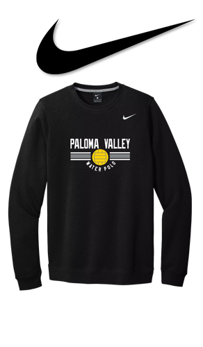 Nike Club Fleece Crew - PALOMA VALLEY WATER POLO