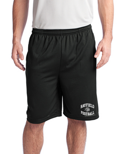 Tough Mesh Pocket Short - Adult - Hayfield Football Coaches
