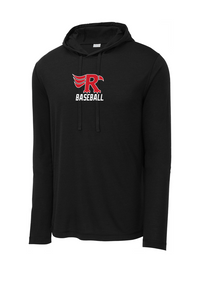 TriBlend Hooded Long Sleeve - LOWVILLE BASEBALL