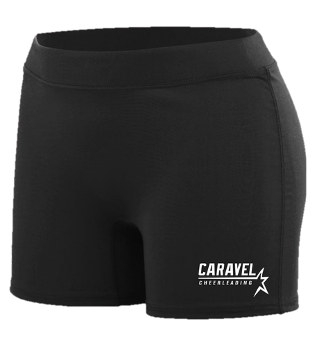 LADIES COMPRESSION SHORTS - Caravel Academy Cheer