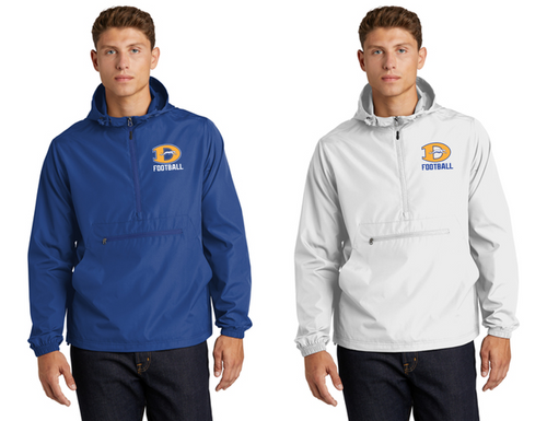 *Packable Anorak Windbreaker - Downingtown West Football