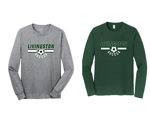 Fan Long Sleeve Tee - LIVINGSTON SOCCER