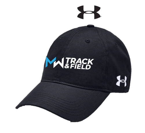 *UA Adjustable Chino Cap - Midd-West Track & Field