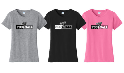 Ladies Fan Favorite Tee - Laona/Wabeno Football