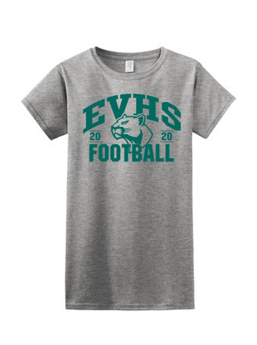 Ladies Softstyle Tee - EVERGREEN VALLEY FOOTBALL