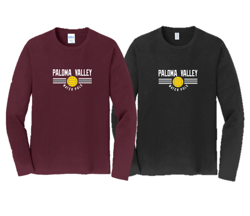 Fan Long Sleeve Tee - Adult - PALOMA VALLEY WATER POLO