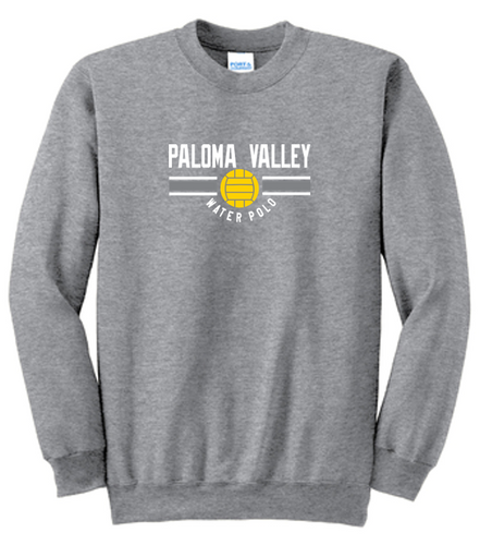Fan Favorite Fleece Crewneck Sweatshirt - PALOMA VALLEY WATER POLO