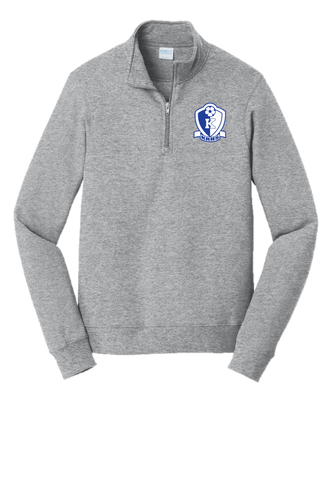 Fan Favorite Fleece 1/4-Zip Pullover Sweatshirt - Kittatinny Soccer