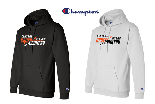 Champion Double Dry Eco Hooded Sweatshirt - CENTRAL KITSAP XC